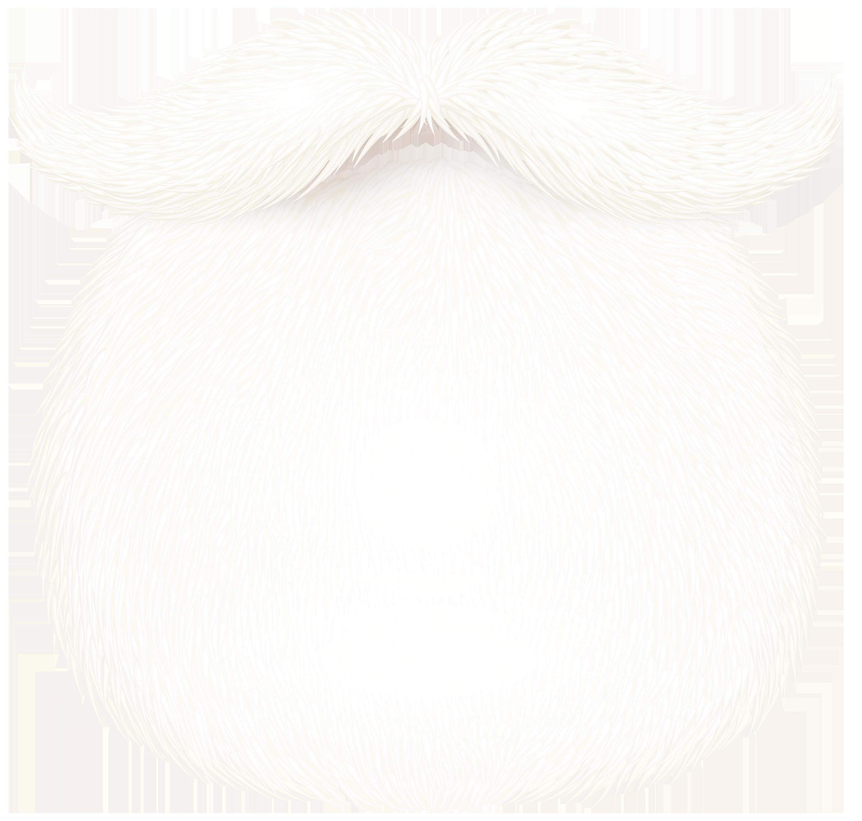 Santa Claus Beard PNG Clipart Image.