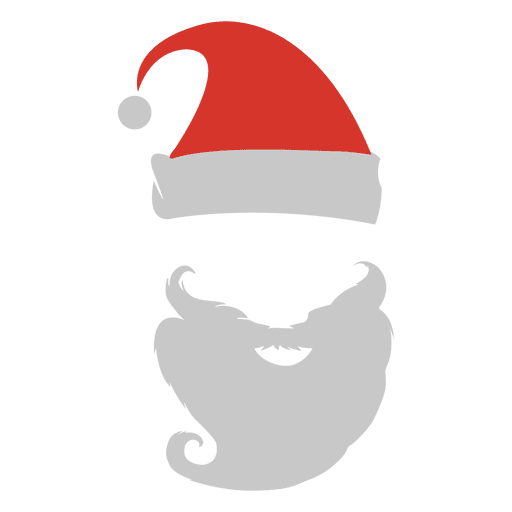 Santa Hat Beard Png & Free Santa Hat Beard.png Transparent.