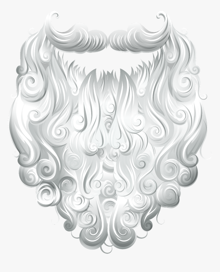 White Beard Png.