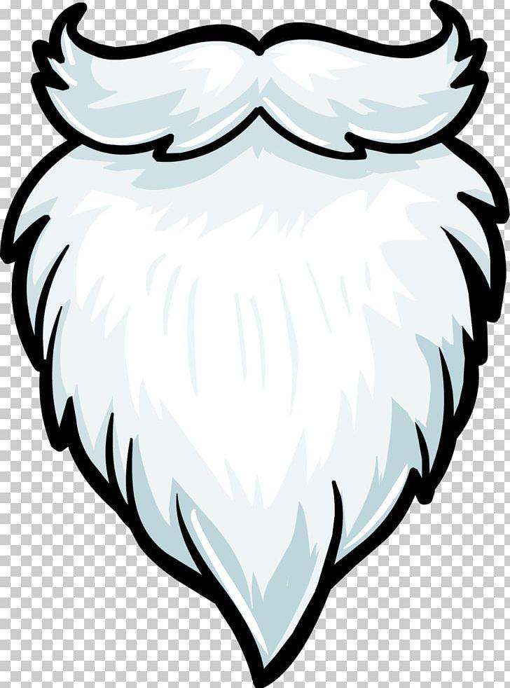 Santa Claus Beard PNG, Clipart, Artwork, Beak, Beard, Bird.