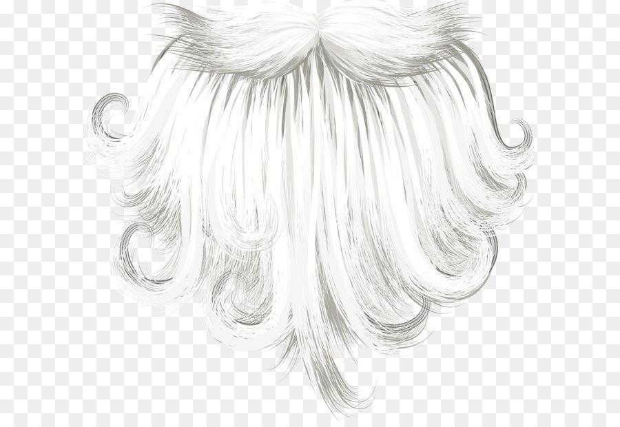 Santa Hair Png & Free Santa Hair.png Transparent Images.