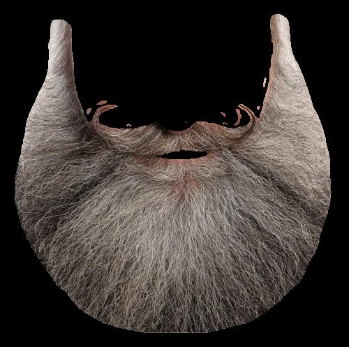 Santa beard png.