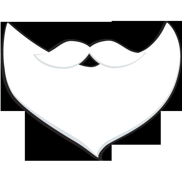 Santa Beard Png Santa; letter pdf · a4 pdf #882.