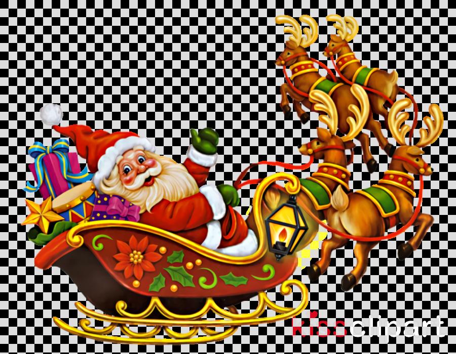 Christmas Santa Santa Claus Saint Nicholas clipart.