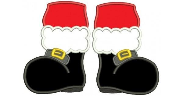Santa boots clipart 3 » Clipart Portal.