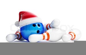 Free Clipart Santa Bowling.