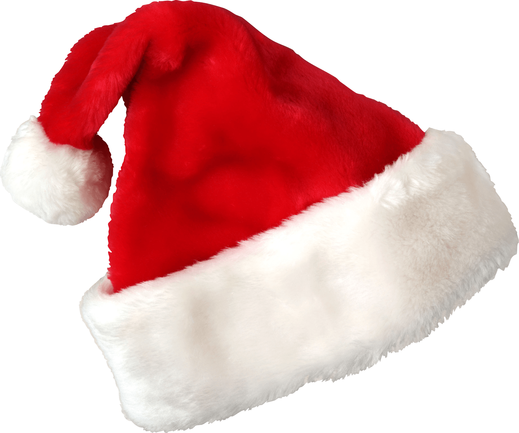 Hat Santa Claus Christmas transparent PNG.