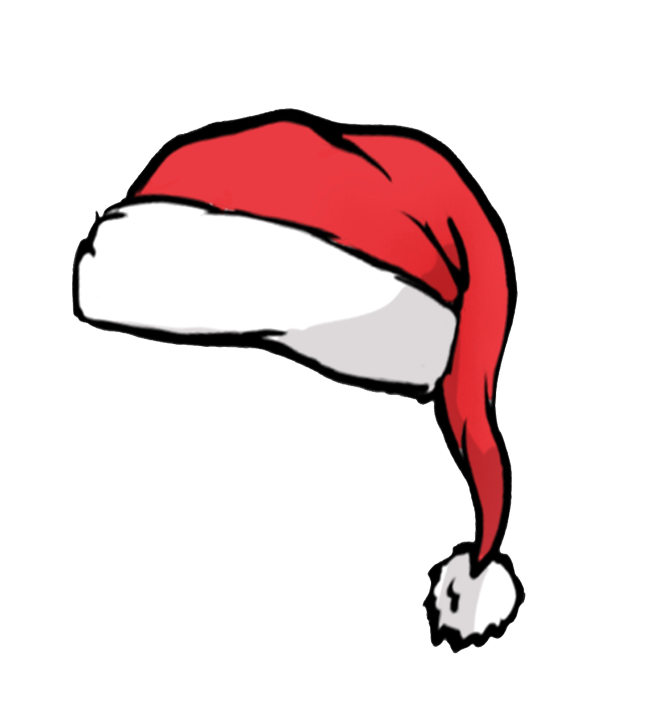 Santa Hat Vector at GetDrawings.com.