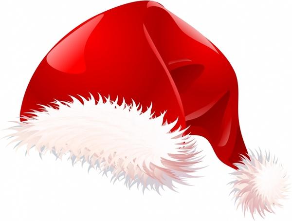 Santa hat Free vector in Adobe Illustrator ai ( .AI.