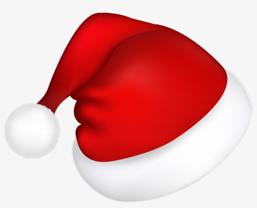 Large Red Santa Hat Png Picture.