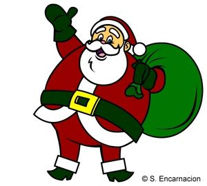 Showing post & media for Cartoon santa clipart.