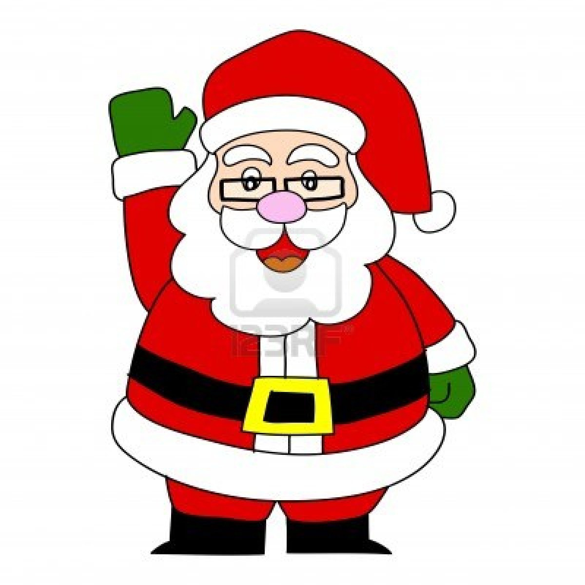 Santa Cartoon Clipart#2117633.
