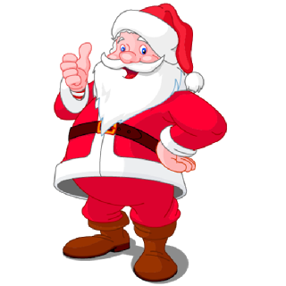 Santa Cartoon Clipart Clipground