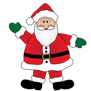 Showing post & media for Cartoon santa claus clip art.