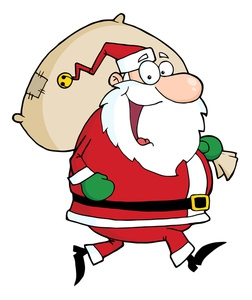 Santa Cartoon Clipart#2117619.