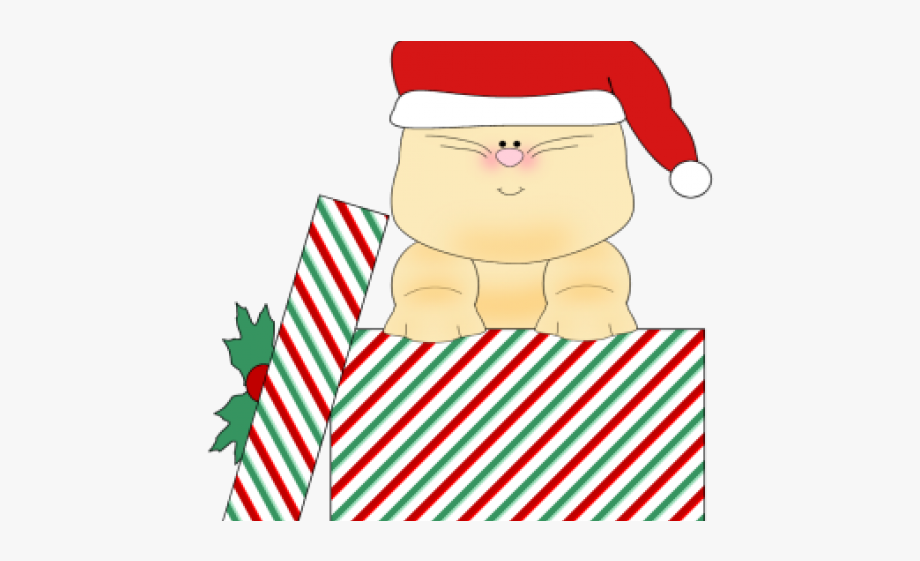 Christmas Cat Clipart.