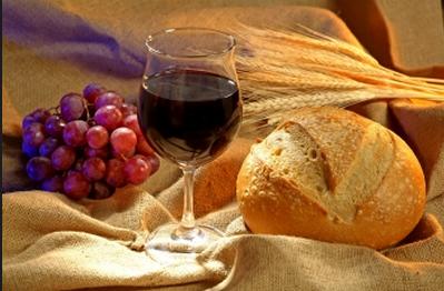 Santa ceia pão e vinho png » PNG Image.