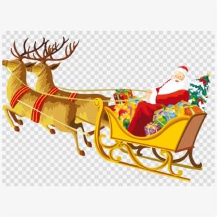 Reindeer Clipart Santa.