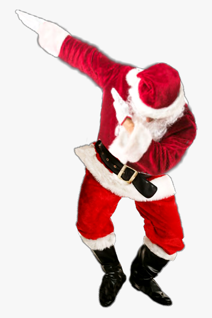Transparent Santa And Mrs Claus Clipart.