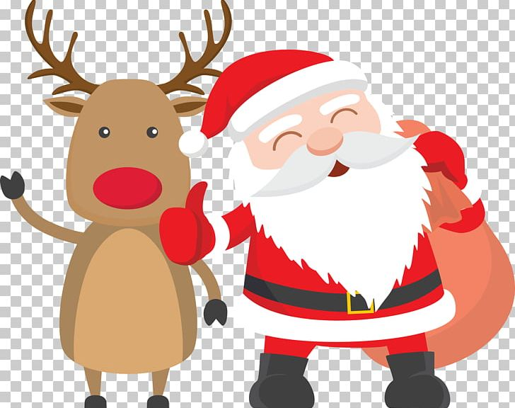 Santa Claus Reindeer Father Christmas Child PNG, Clipart.