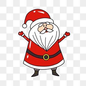 Dibujos Animados De Santa Claus Imágenes PNG.