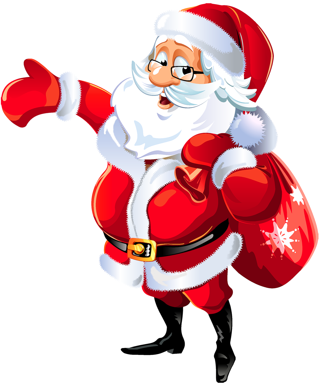 Christmas Santa Claus HD PNG Images.