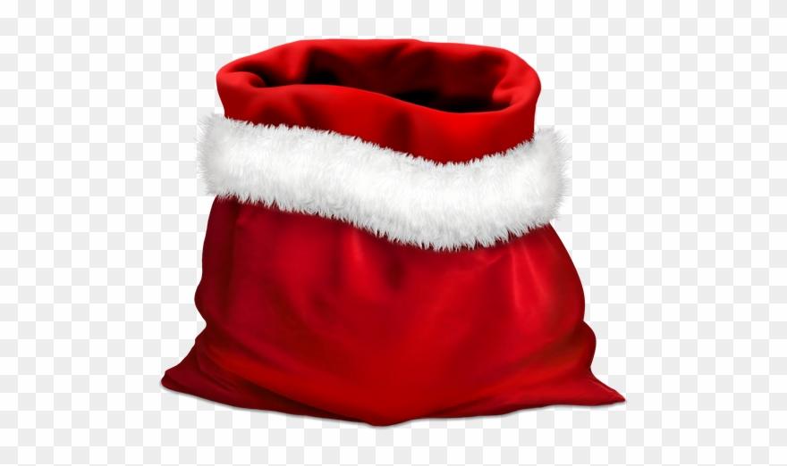 Gift, Gifts, Red Bag, Bag Of Santa Claus, Holidays.