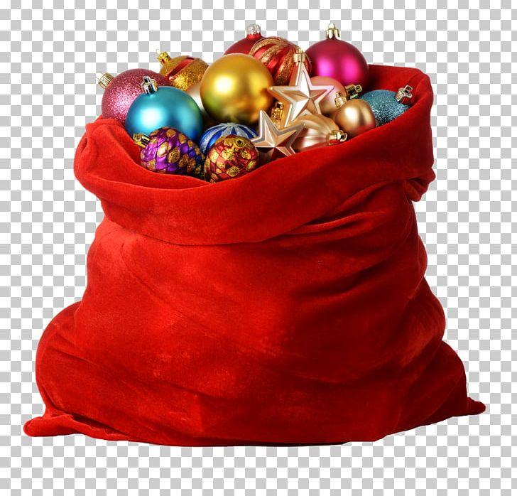 Santa Claus Christmas Gift Bag PNG, Clipart, Bag, Christmas.