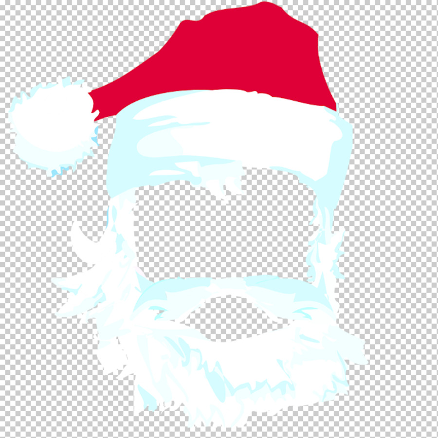 Santa Claus Beard Santa Suit Clip Art.