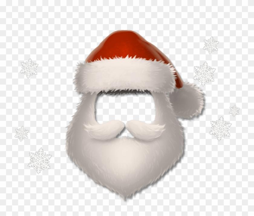 Santa Beard Png, Transparent Png.