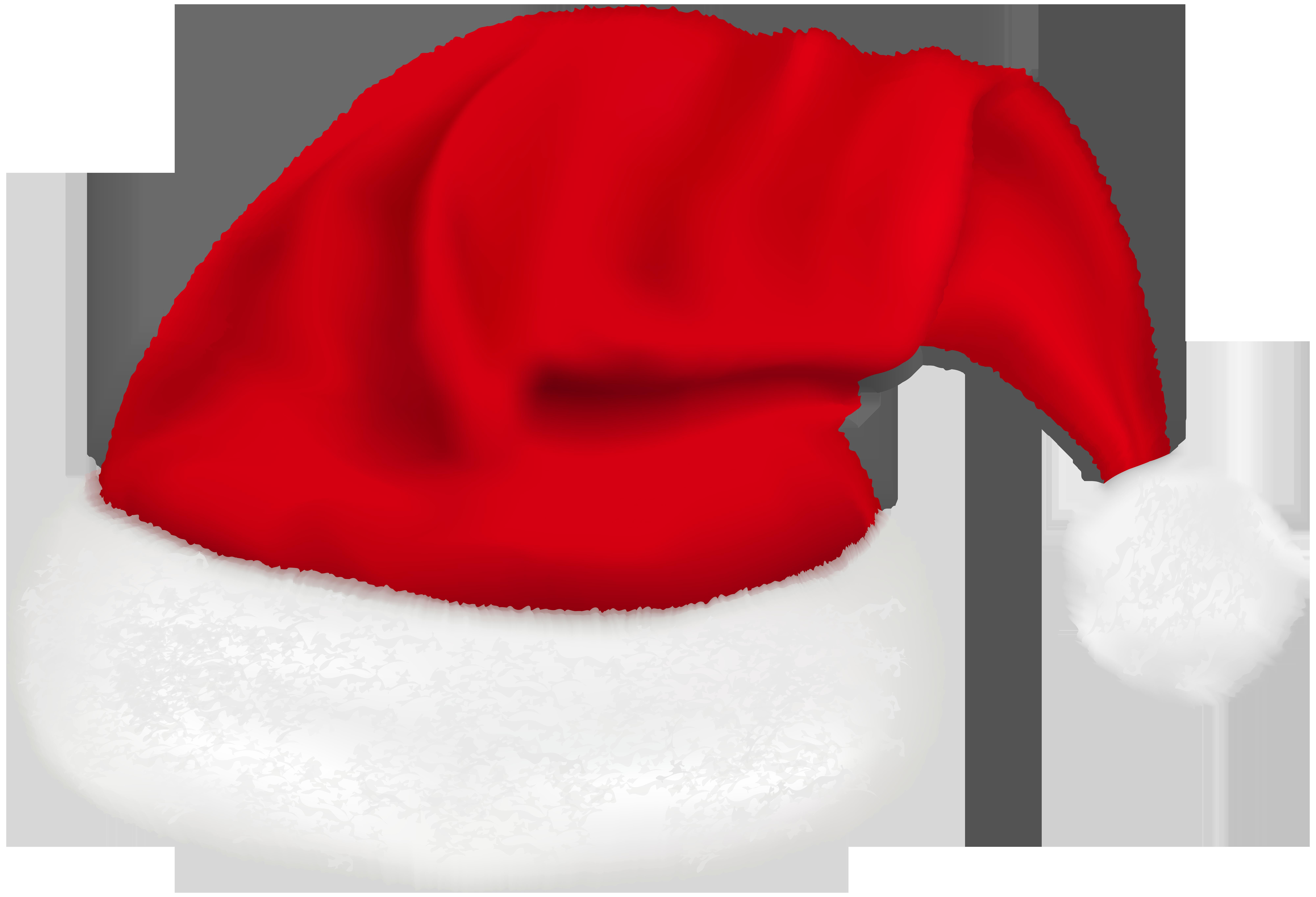 Santa Claus Hat PNG Clip Art Image.