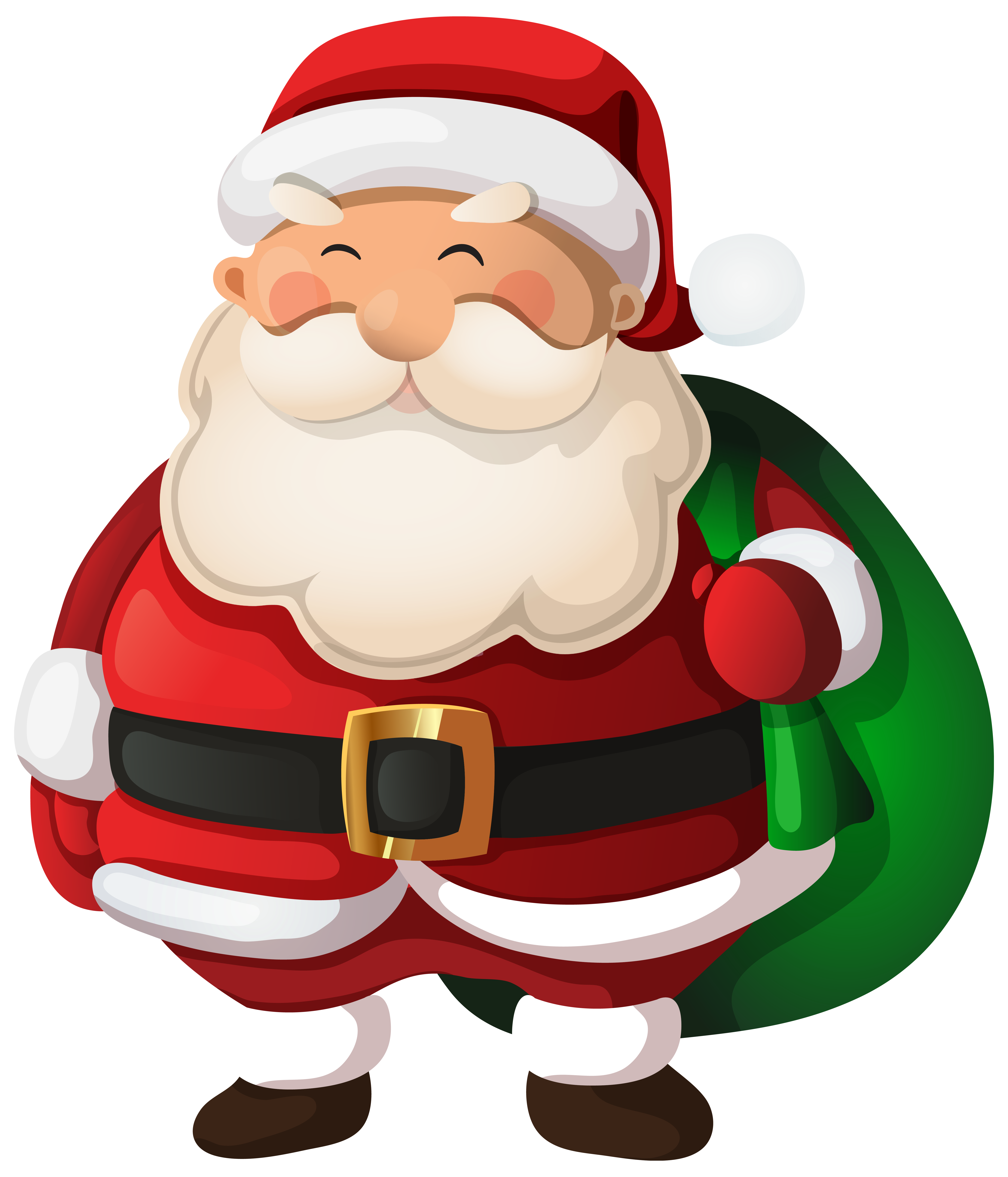 Santa Claus PNG Clip Art Image.