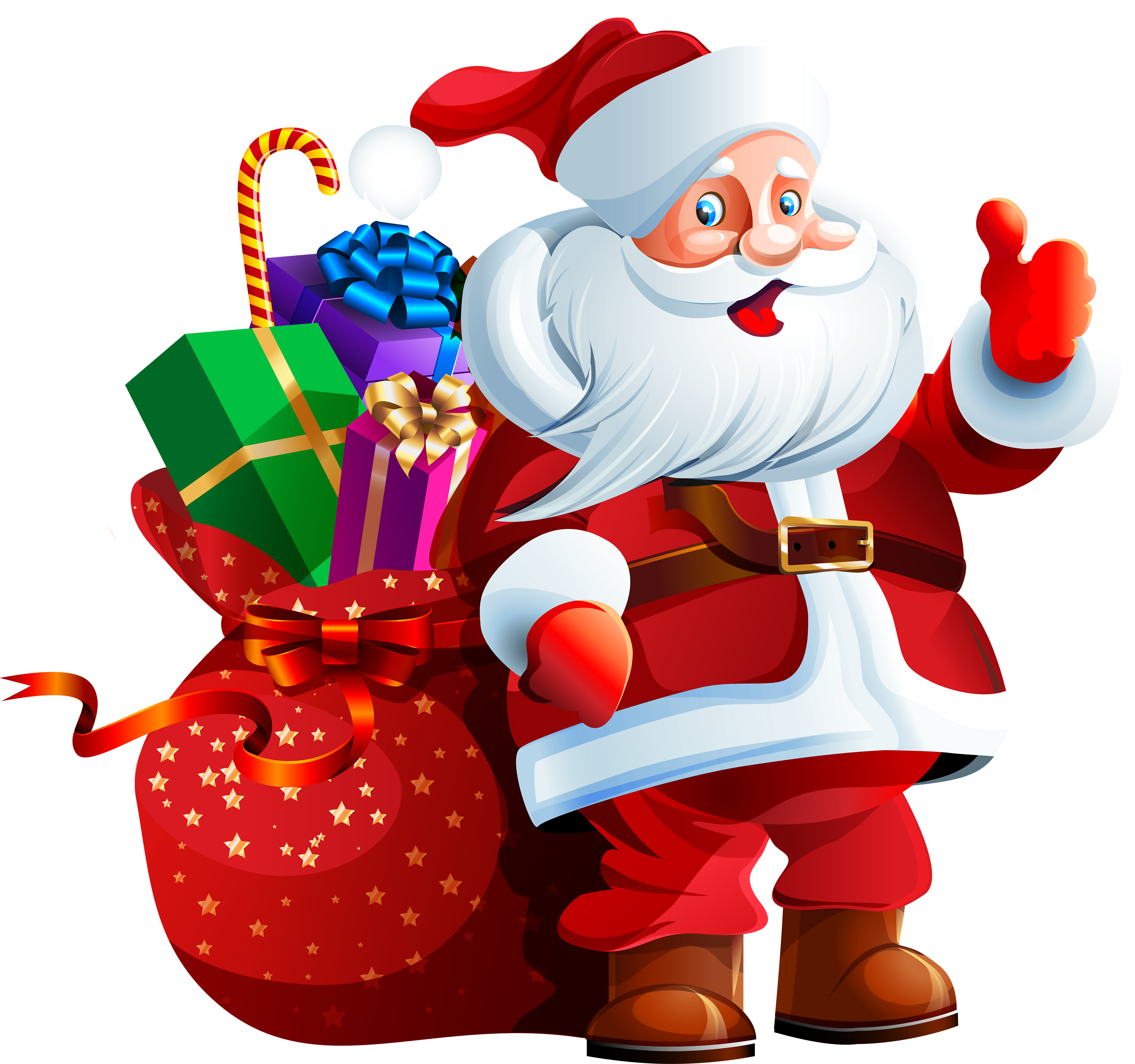 Santa claus clipart website.