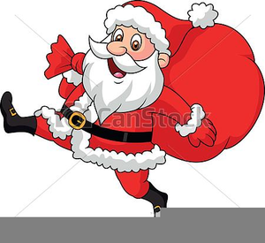 Free Animated Santa Claus Clipart.