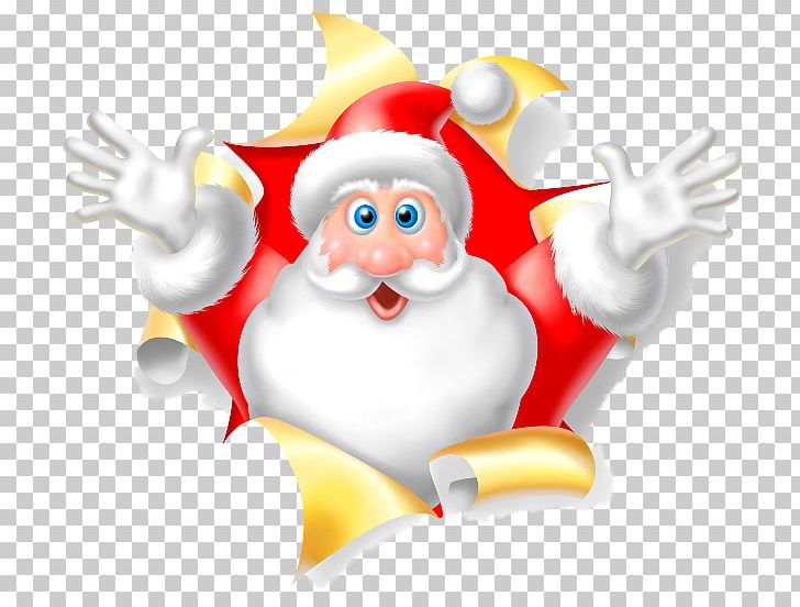 Santa Claus New Year Rudolph Christmas Ded Moroz PNG.
