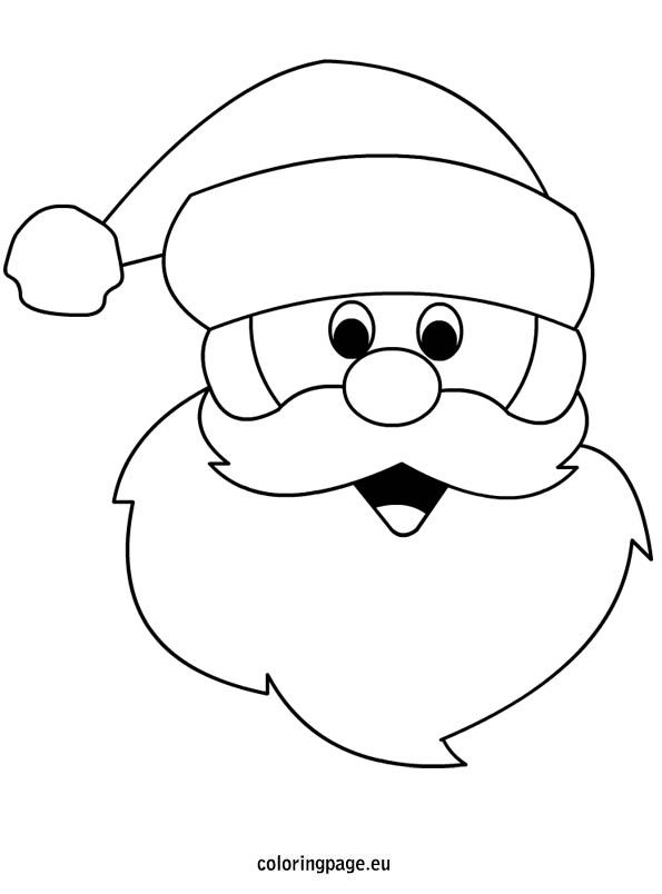 1000+ ideas about Santa Coloring Pages on Pinterest.