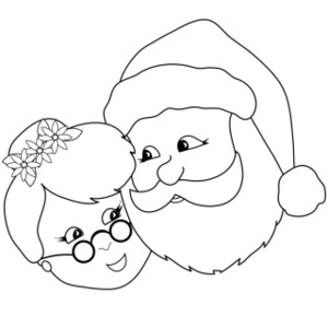 Watch more like Santa Claus And Mrs Claus Coloring Pages.