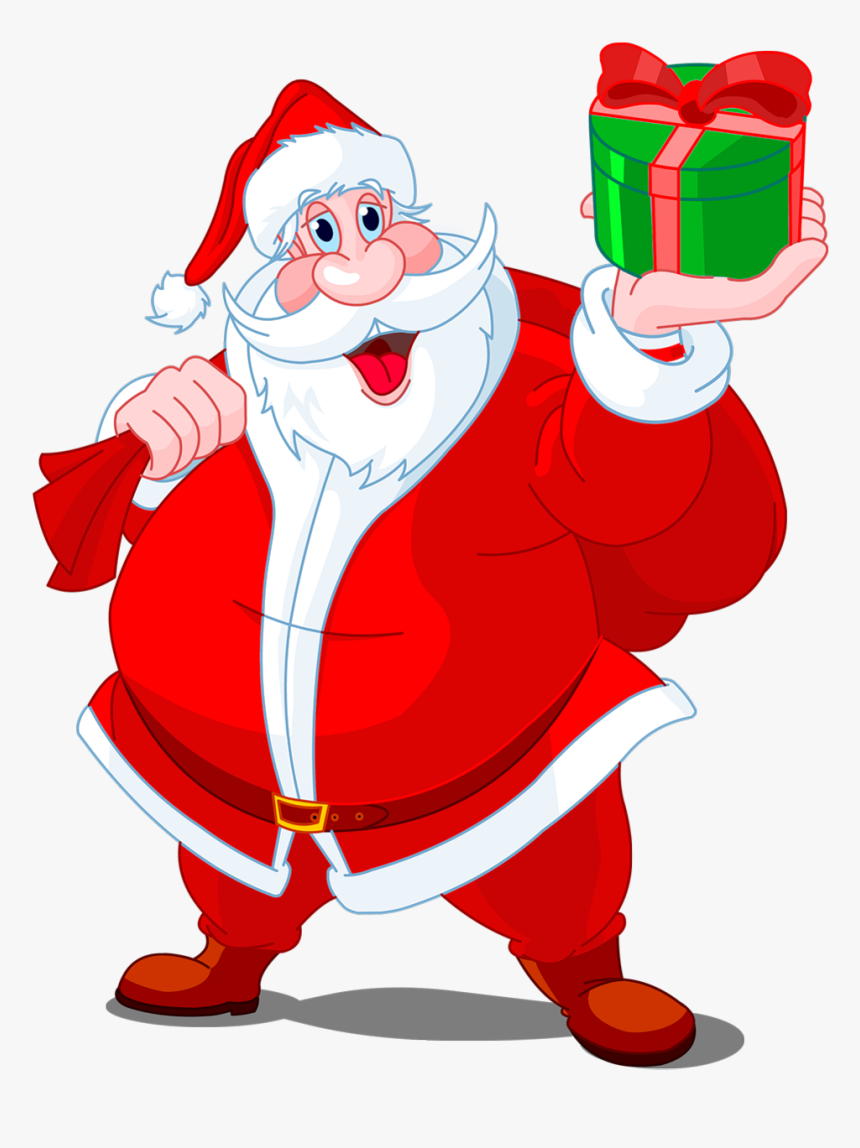 Santa Hat Clipart With Transparent Background.