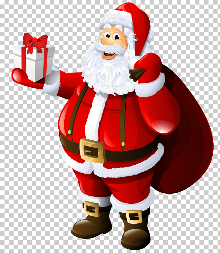 Mrs. Claus Santa Claus Gift , Transparent Santa Claus with.