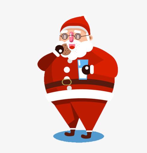 Santa Claus Eating Png & Free Santa Claus Eating.png.