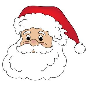 Free santa claus clip art image clipart illustration of.