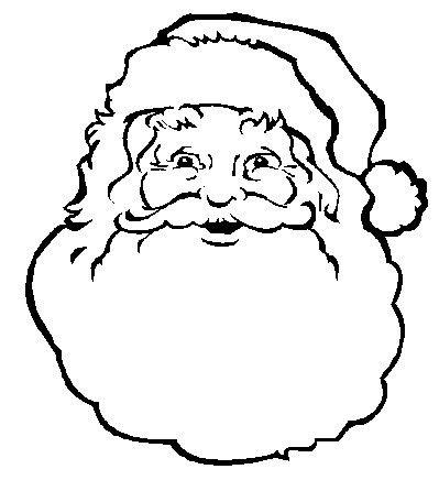 25+ best ideas about Santa Face on Pinterest.