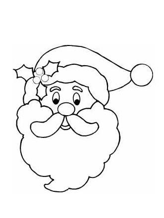 Santa Claus Face Pictures.