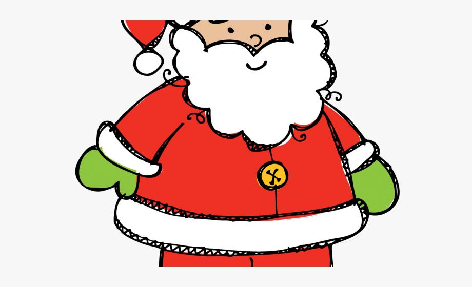 Cute Santa Clipart.
