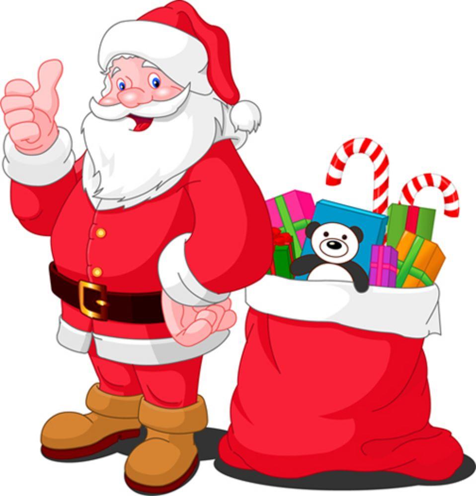 Clipart Of Santa Claus.