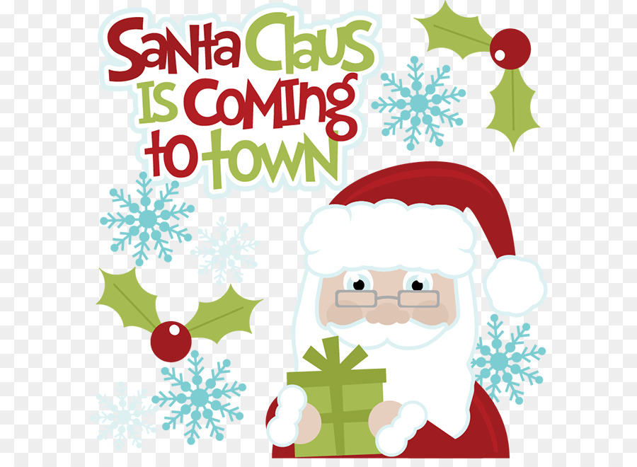Santa Claus Is Comin To Town Clipart.