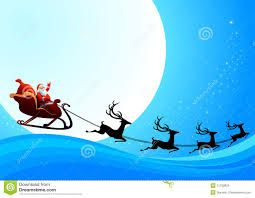 santa claus is coming to town clip art.