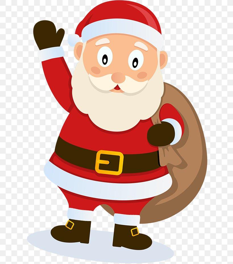 Santa Claus Father Christmas Letter Clip Art, PNG, 641x928px.