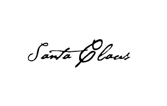 Free Santa Claus Signature Clipart.