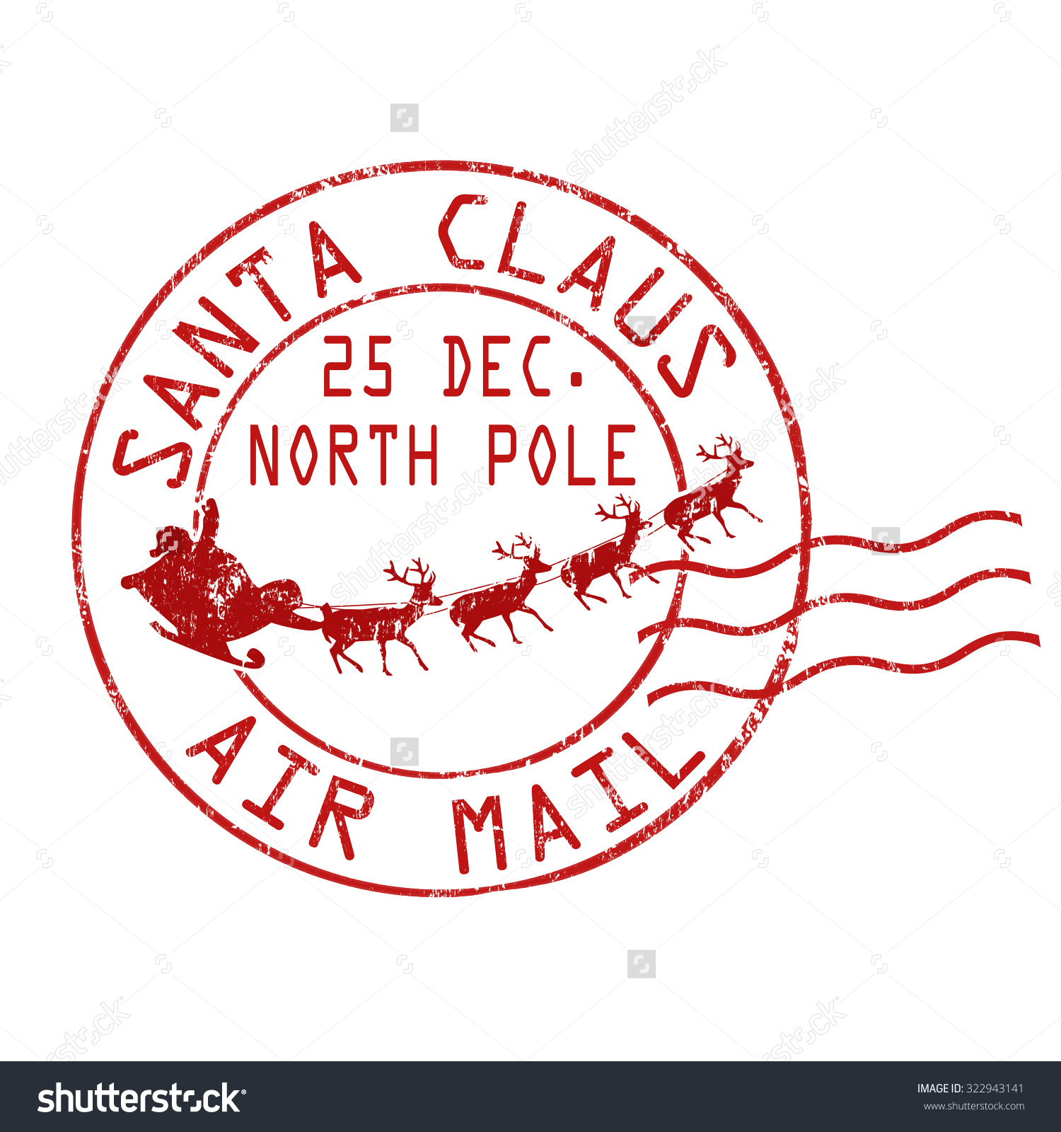 Free Santa Claus Signature Clipart (48+).